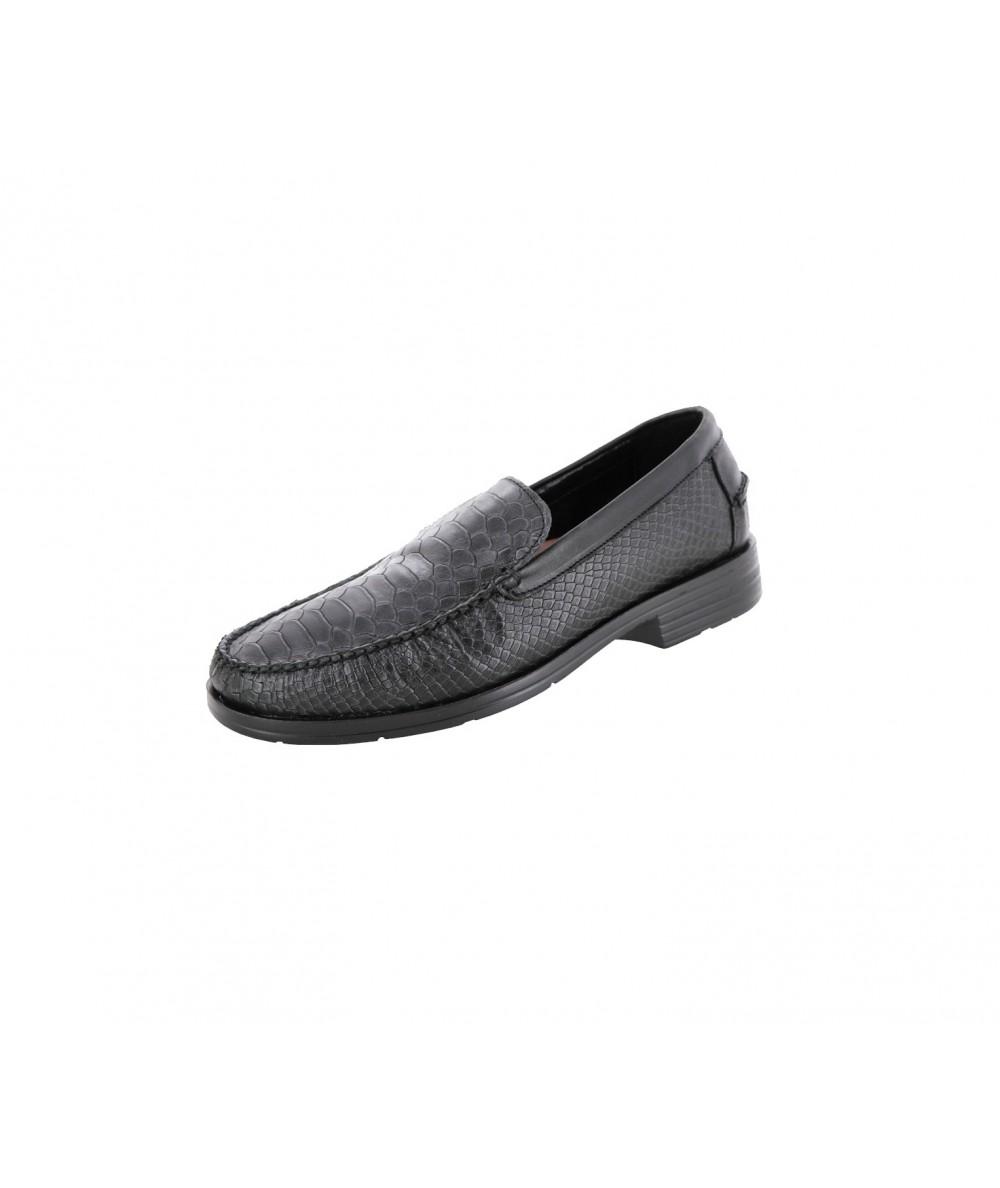 Evolución-zapato Mocasín10160-Plata
